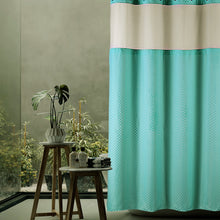 Lagute Snaphook TrueColor Hookless Shower Curtain, Turquoise