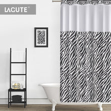 Lagute-Hookless-Shower-Curtain- w/Snap-in Liner-1