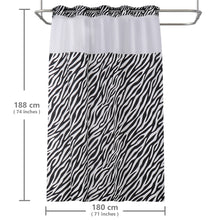 Lagute-Hookless-Shower-Curtain- w/Snap-in Liner-7