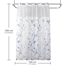 Lagute-Hookless-Shower-Curtain-Blue-Blossom-6
