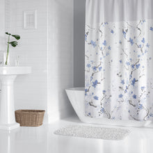 Lagute-Hookless-Shower-Curtain-Blue-Blossom-7