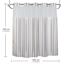 Lagute-Hookless-Shower-Curtain-Nordic-Stripes-color-8