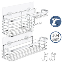 Solide 2-Pack Shower Caddy