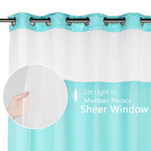 Lagute-snaphook-hookless-shower-curtain-Turquoise-4
