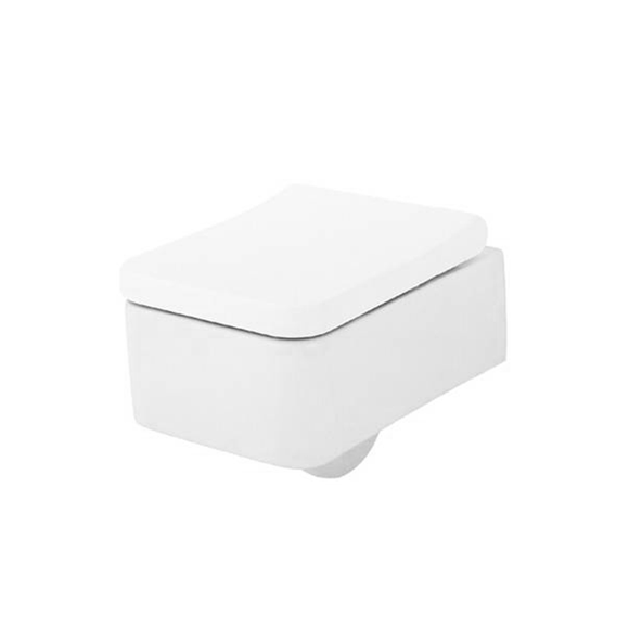 Vitra Softcube Wall Hung Pan with Toilet Seat