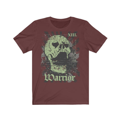 Warrior Skull Unisex Jersey Short Sleeve Tee
