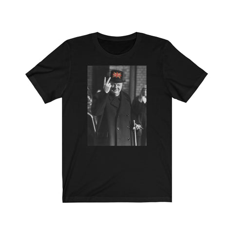 Churchill 2 Fingers Unisex Jersey Short Sleeve Tee