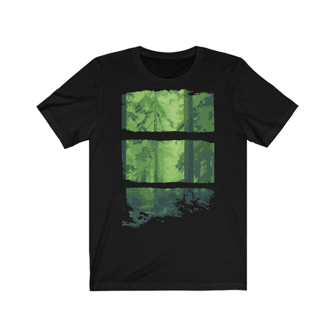 Green forest Unisex Jersey Short Sleeve Tee