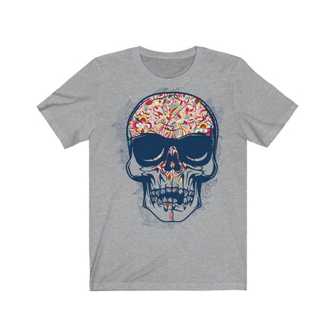 Multi colored skull Unisex Jersey Short Sleeve Tee