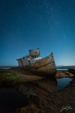 Moonlit Ghost Ship