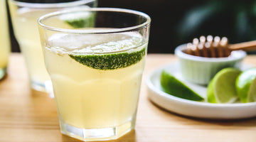 Green Tea, Lime and Honey Kombucha Recipe