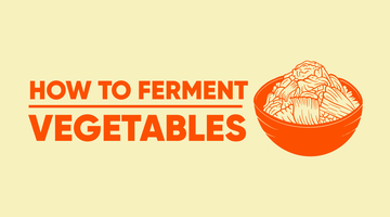 [Infographic] How to Ferment Vegetables?