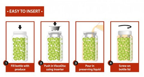 12 Pack Viscodisc Canning//Fermenting Buddy Wide Mouth