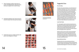 Lacto Fermented Plums recipe inside the Noma Guide to Fermentation