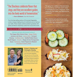 Fiery Ferments by Christopher Shockey and Kirsten K. Shockey book back
