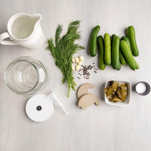 Ingredients For Fermented Pickle Recipe