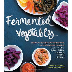 Fermented vegetables book cover by K & C Shockey