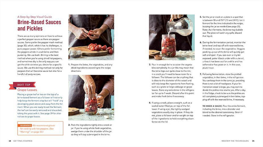 Fiery Ferments by Christopher Shockey and Kirsten K. Shockey recipe