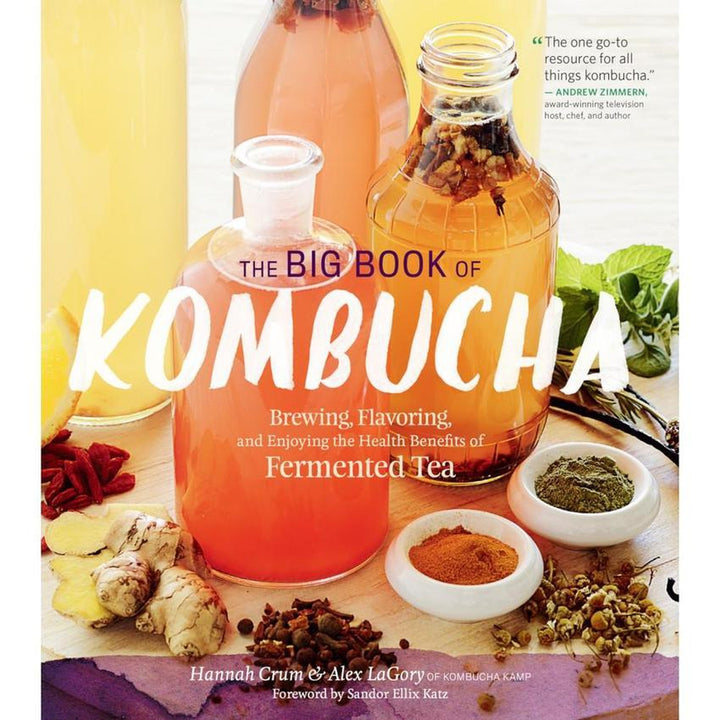 The Big book of Kombucha Book Cover