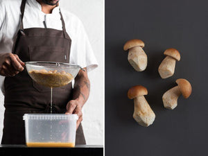Lacto Fermented Cep Mushroom recipe inside the Noma Guide to Fermentation