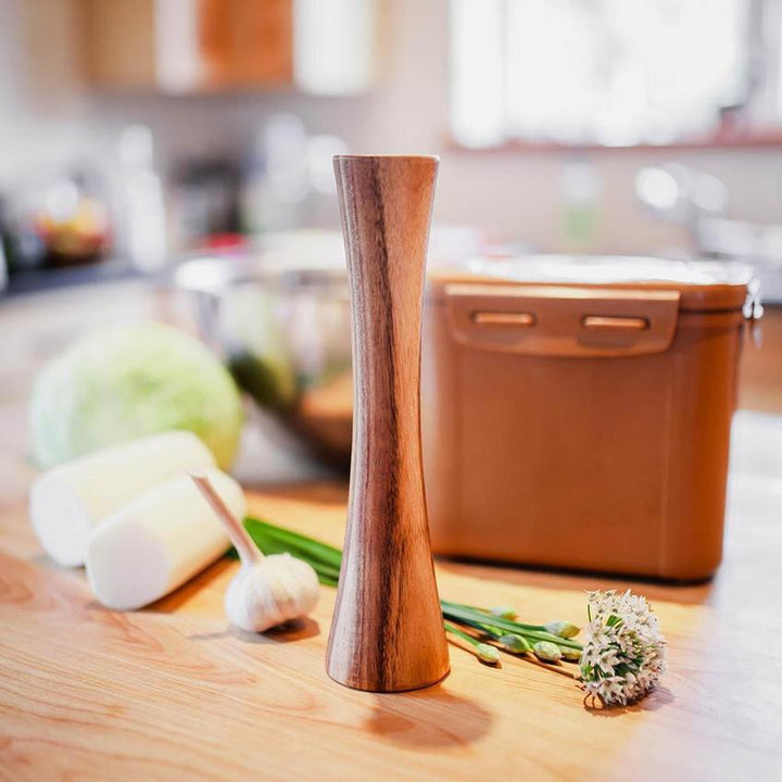 Wooden Pickle Packer Tamper