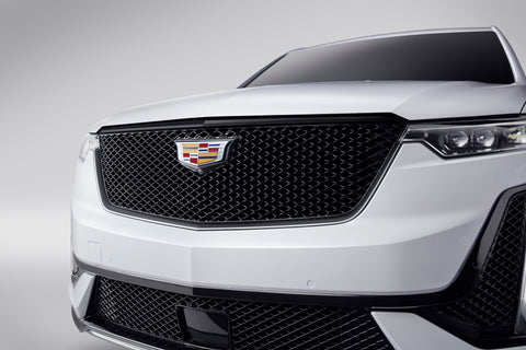 XT6 Gloss Black Upper Grille