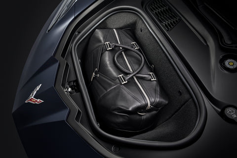 Cross Flags Premium Leather Travel Bag