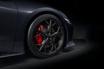 C8 Black 5-Trident Spoke Wheels
