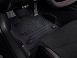 C8 Corvette Jake Logo Jet Black All Weather Floor Liners