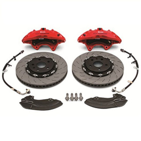 Six Piston Front Brembo Upgrade Kit