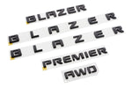 Blazer Black Out Emblem Kit