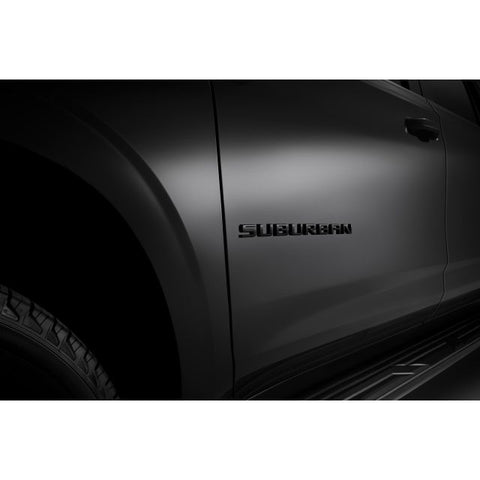 2021 Suburban Black Emblem Package