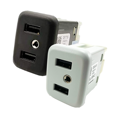Dual Port High Speed USB 3.0 Receptacle