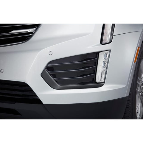 XT5 Black Ice Chrome Fog Lamp Trim Kit