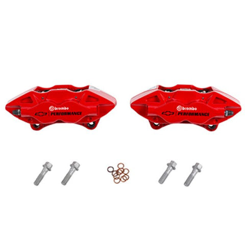 Four Piston Rear Brembo Upgrade Kit
