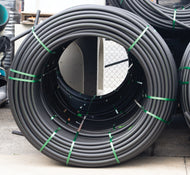 32mm x 250m Black Subduct Coil (PE100 SDR17 PN10)