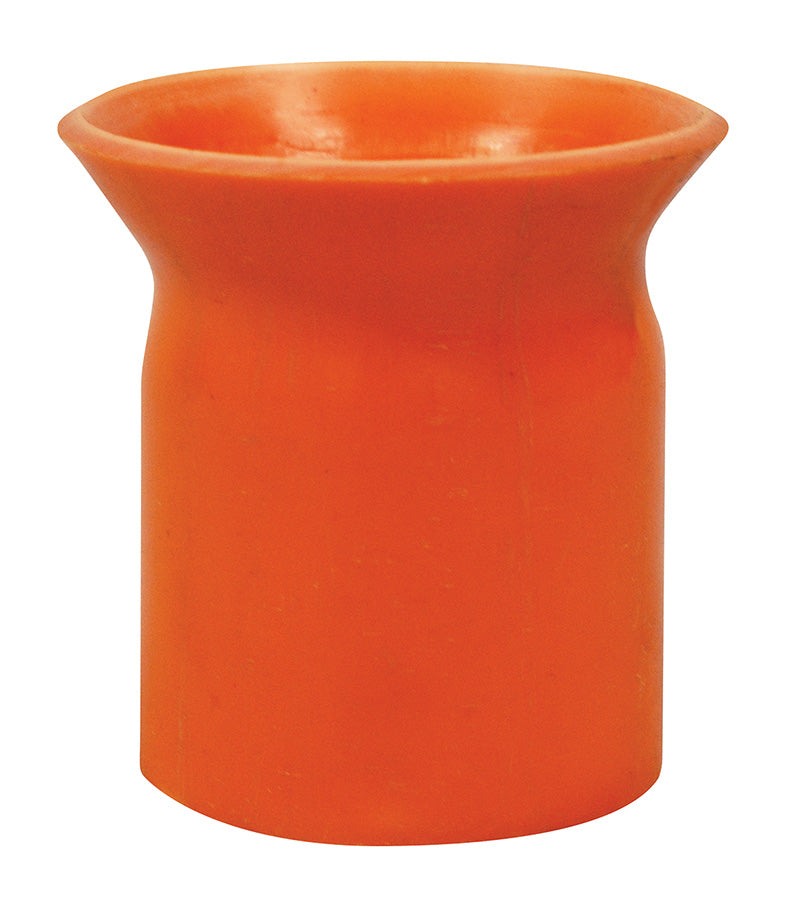 80mm Electrical PVC Orange Large Bell Mouth
