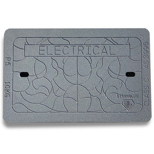 "P5 ""Electrical"" Stronglite Class C Lid (648mm x 398mm x 50mm) 10KG"