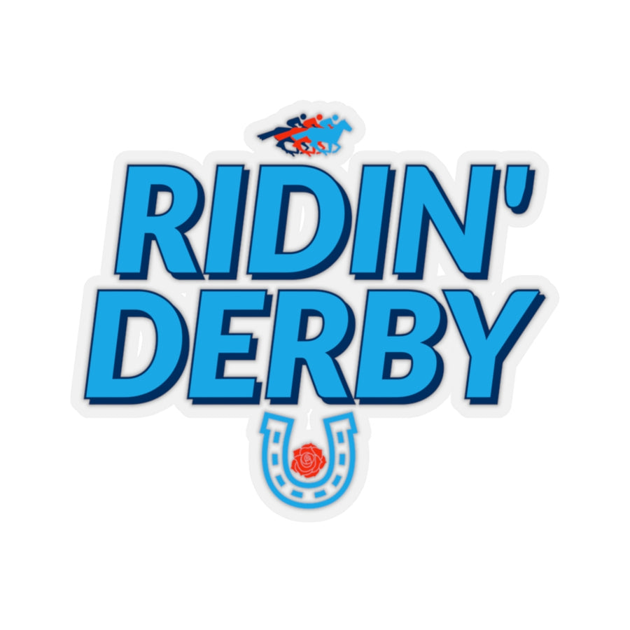 Ridin Derby Sticker