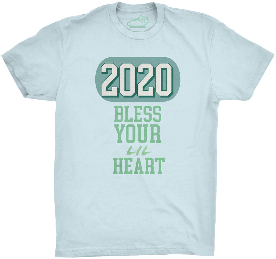 2020 Bless Your Lil Heart Tshirt Light Blue