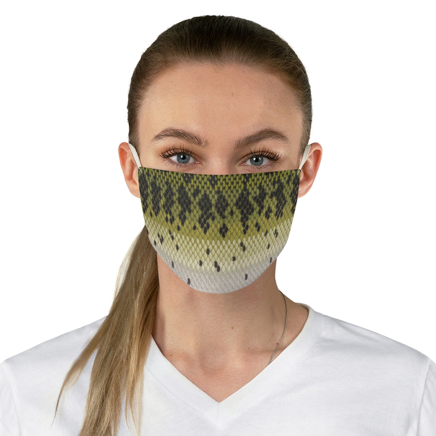 LARGEMOUTH BASS FACE MASK
