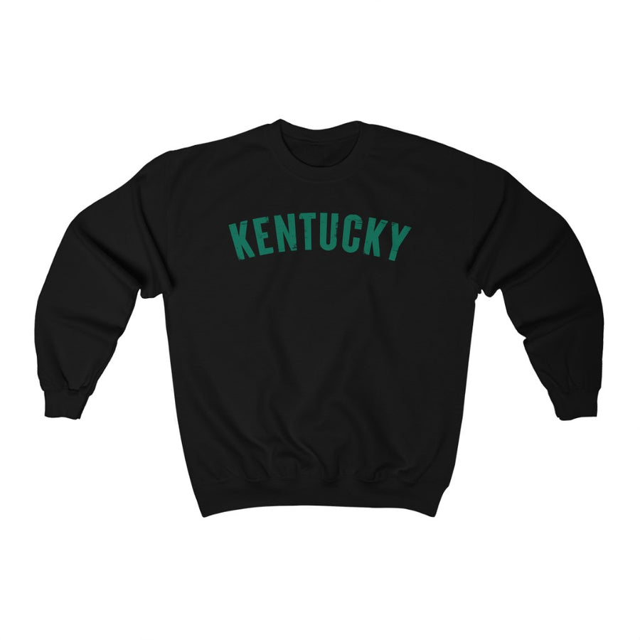 Kentucky Sweatshirt Gleaming Green Print
