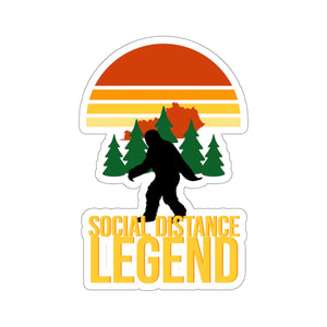 SOCIAL DISTANCE LEGEND KISS-CUT STICKER