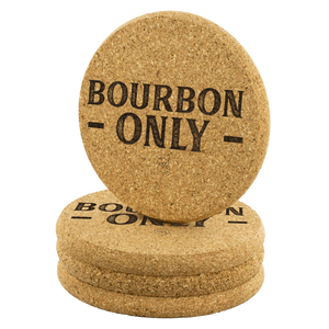 Bourbon Only Coasters