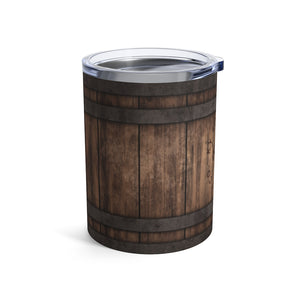 BOURBON BARREL TUMBLER