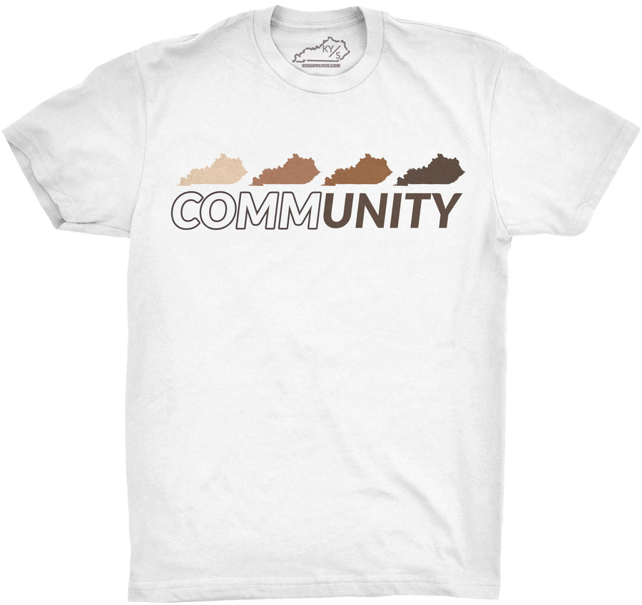 KENTUCKY COMMUNITY TSHIRT White