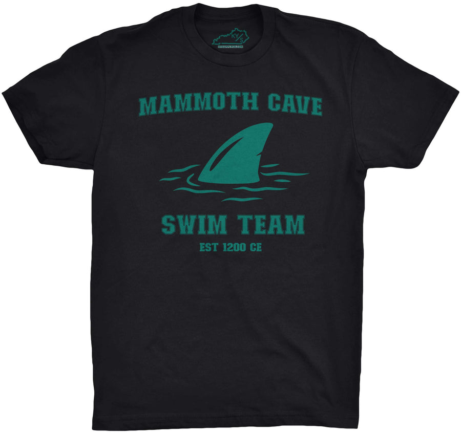 Mammoth Cave Swim Team Tshirt Black