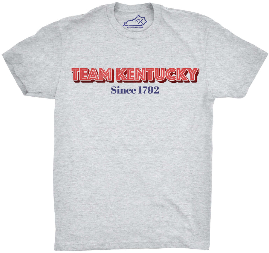 TEAM KENTUCKY SINCE 1792 TSHIRT Heather Grey