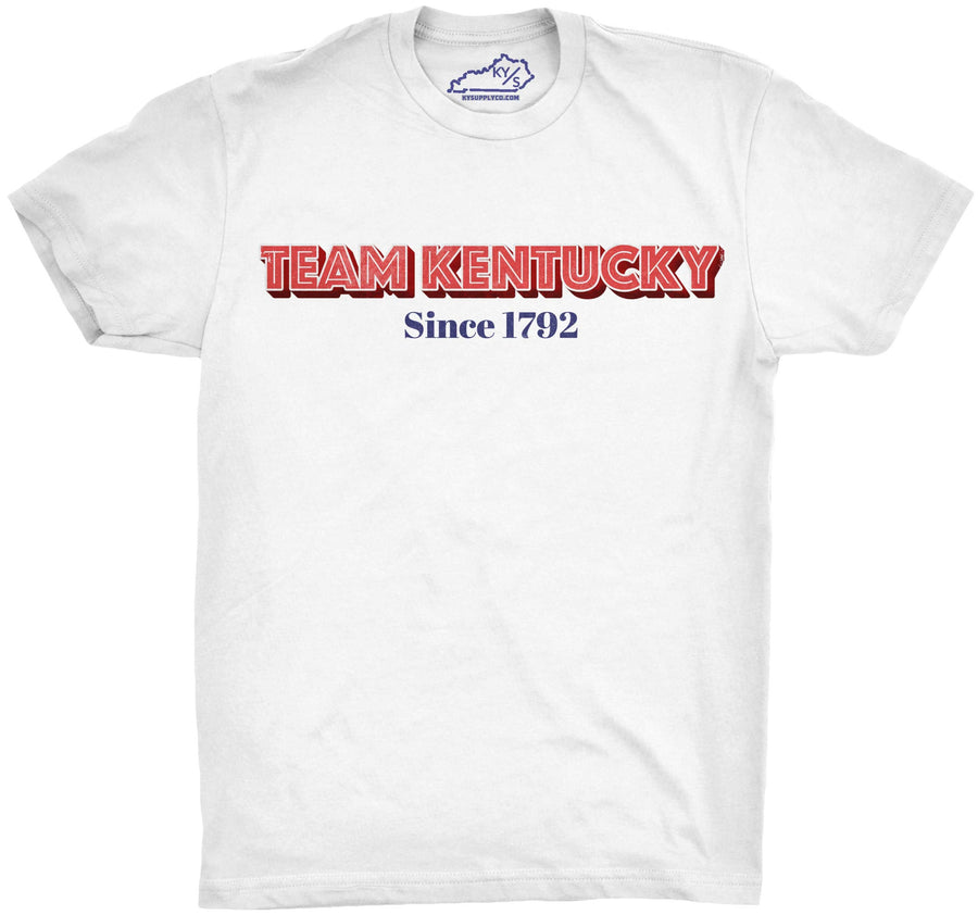 TEAM KENTUCKY SINCE 1792 TSHIRT White