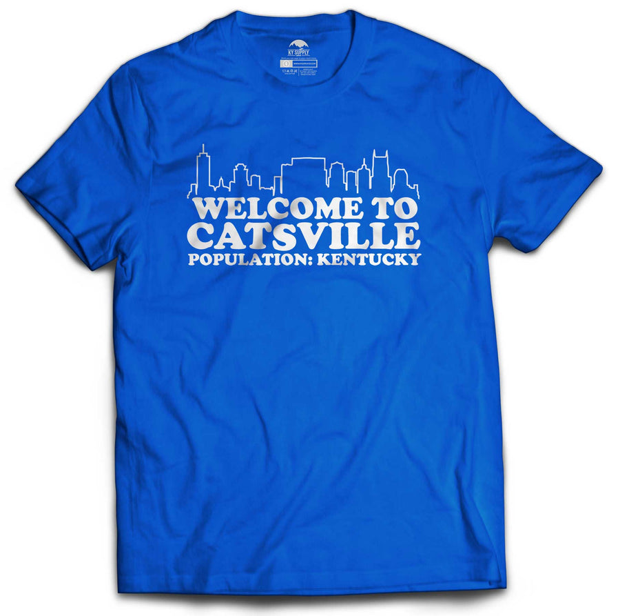 WELCOME TO CATSVILLE TSHIRT